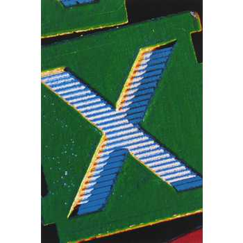 Assorted Alphabet Card - X